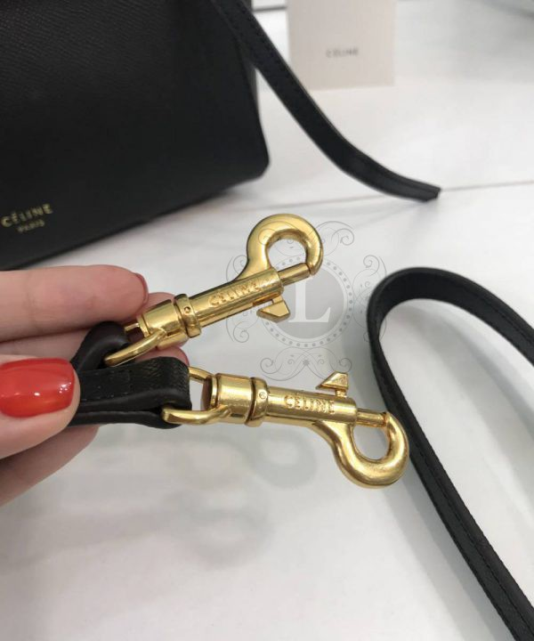 Replica Celine Belt Bag Black