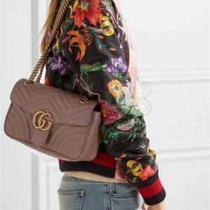 Replica GG Marmont Medium Shoulder Bag