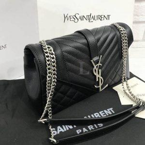 Replica YVES Saint Laurent Soft Envelope Shoulder Bag