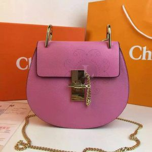 Replica Chloe Drew Mini Pink
