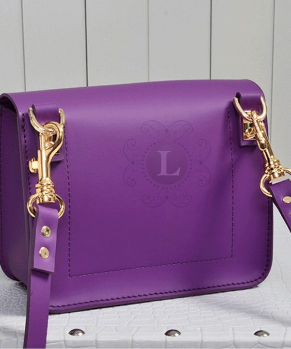 Replica Sophie Hulme Envelope Bag Purple