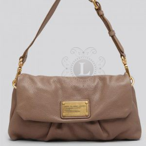 Replica Marc By Marc Jacobs Classic Q Linda Clutch Coffee