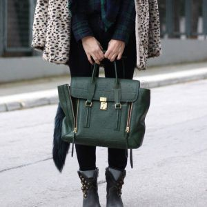 Replica 3.1 Phillip Lim Medium Pashli Green