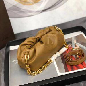 Replica Bottega Veneta The Chain Pouch Moutarde