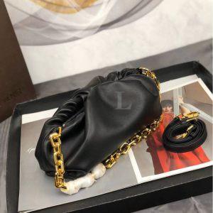 Replica Bottega Veneta The Chain Pouch Black